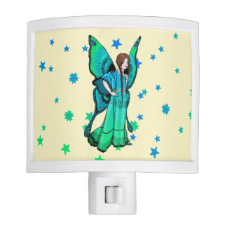 Green Fairy Night Light