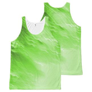 Green Falling Lites tank