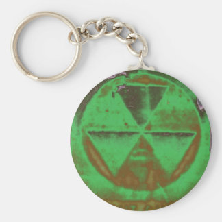 green Fallout Keychain