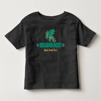 Green Fantasy Dragon Toddler T-shirt
