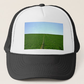 Green Farm Image Trucker Hat