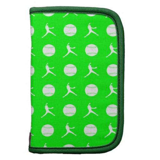 Green Fastpitch Folio Planner