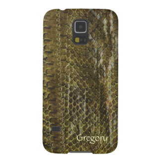 Green Faux Snakeskin Samsung Galaxy S5 Case