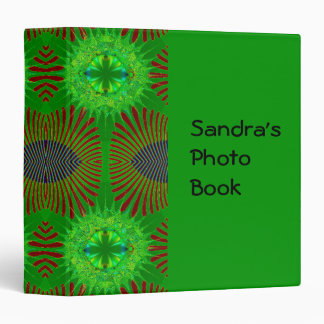 green feather fractal binders