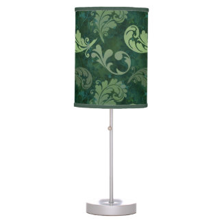 Green, Feather, Quill, Feathers, Elegant, Lush, Table Lamp