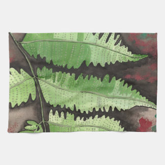 Green Fern Kitchen Towel
