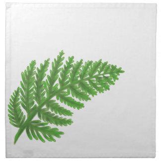Green Fern Napkin