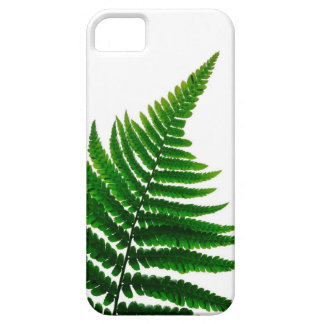 Green Fern prints Woodlands Leaf iPhone 5 Cover