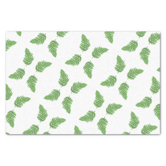 Green Fern Tissue Paper