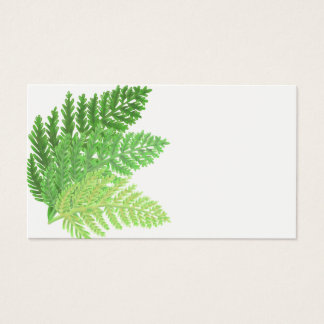 Green Ferns Business Card
