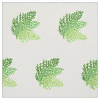 Green Ferns Fabric