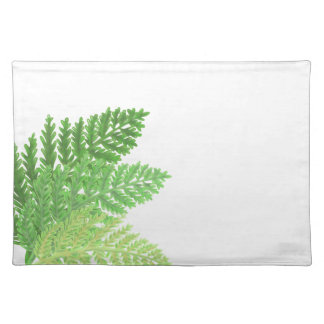 Green Ferns Placemat