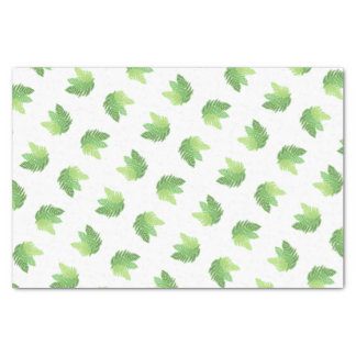 Green Ferns Tissue Paper