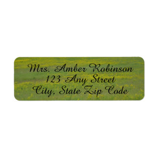 Green Field Address Labels
