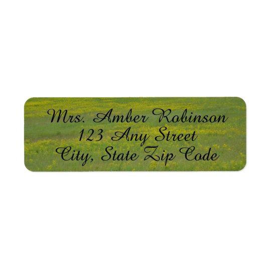 Green Field Address Labels