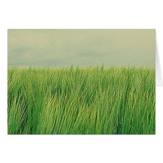 Green field card
