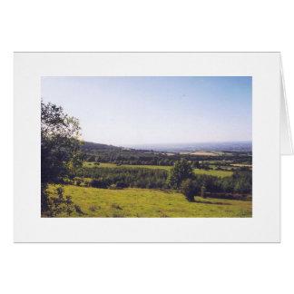 Green Fields of Ireland Card