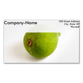 Green Fig Business Card Magnet
