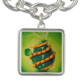 Green Fingers Potion Bottle Charm Bracelet
