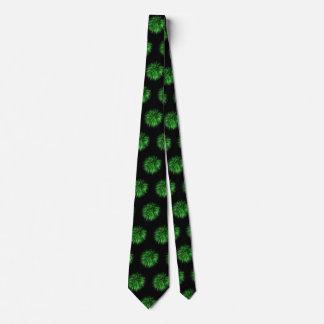 Green Fireworks Men's Neck Tie