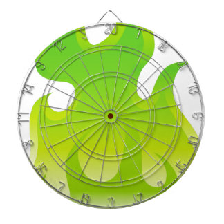 Green Flame Icon Dart Boards