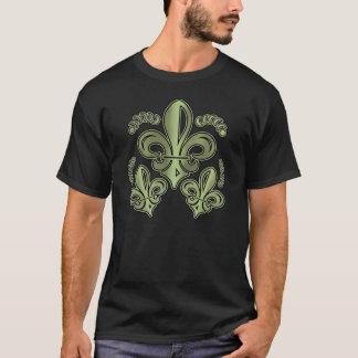 """""""Green Fleur-De-Lis"""" Shirt"""