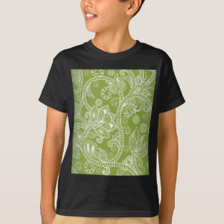 green floral T-Shirt