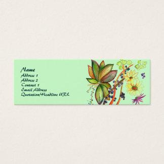 Green Flower 71 Profile Card