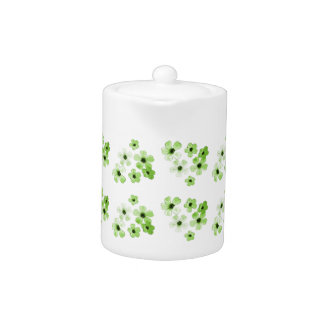 Green Flowers Pattern