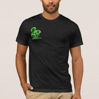 Green Fluorescence_T_BL T-Shirt