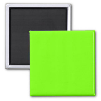 green fluorescent square magnet