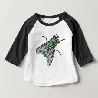 green fly baby T-Shirt