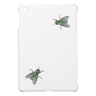 green fly - imitation of embroidery iPad mini cases