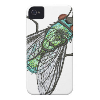 green fly iPhone 4 Case-Mate case