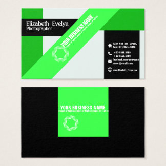 green fold exclusive business card