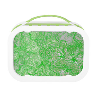 Green Foliage Lunch Box