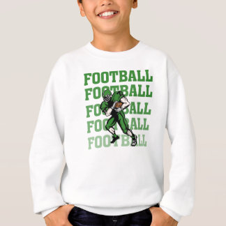 Green Football Player T-shirts and Gifts