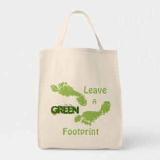 Green Footprints Bag
