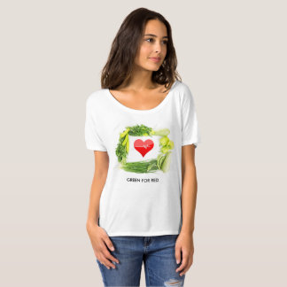 Green for red, boost your health T-Shirt