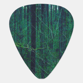 Green Forest Guitar Pick