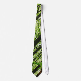 Green Forest Photography, Nature Landscape Tie