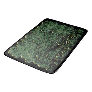 Green Formation Animation Bath Mat