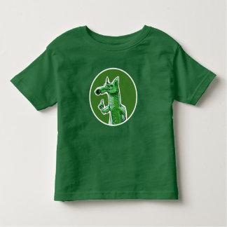 green fox sweet cartoon toddler t-shirt