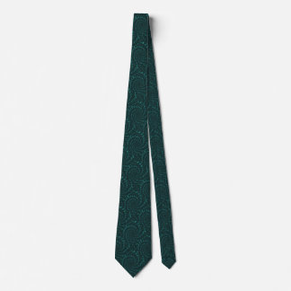 Green Fractal Tie