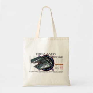 Green Freighter tote bag
