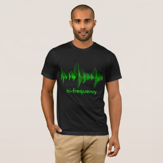 green frequency shirt