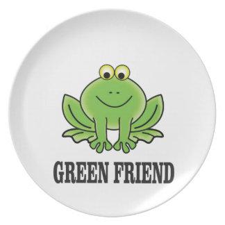 green friend plate