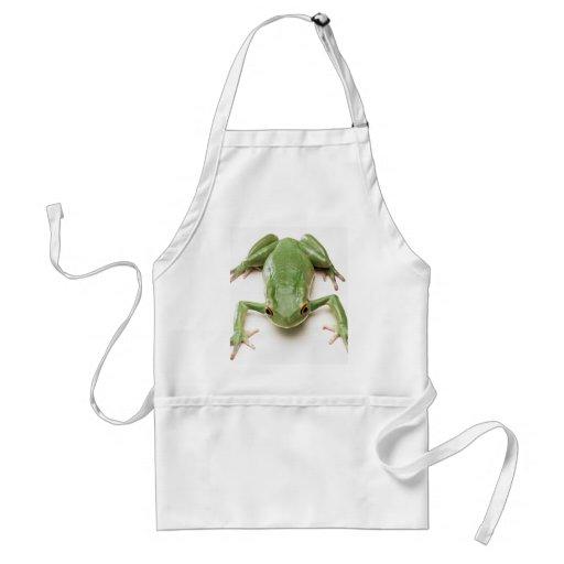 Green-Frog Apron
