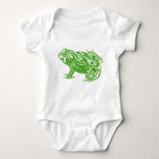 Green Frog Baby Bodysuit