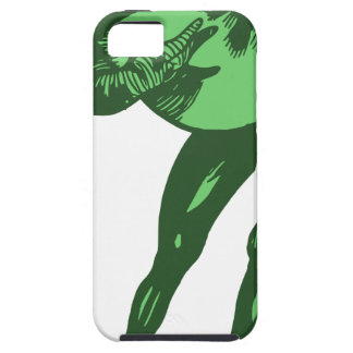 Green Frog Bowing Case For The iPhone 5